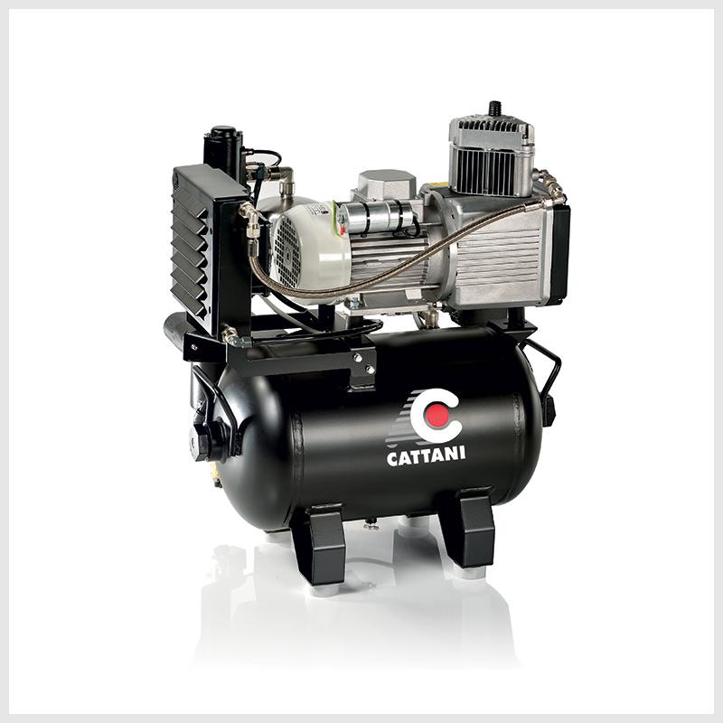 AC 100 – jednoválcový kompresor se sušičem vzduchu
